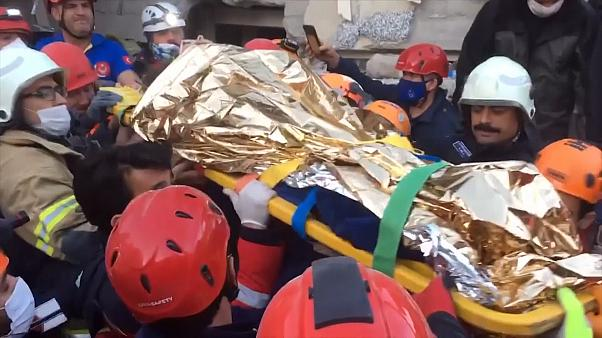 Izmir teenager rescue