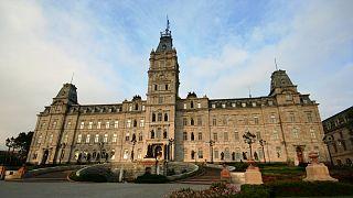 The regioal legislature in Québec City, Canada.