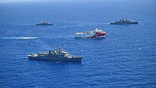 Oruç Reis sismik araştırma gemisi