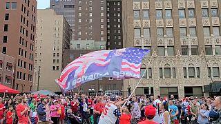 Митинг сторонников Дональда Трампа