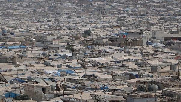 مخيمات النازحين شمال غرب سوريا