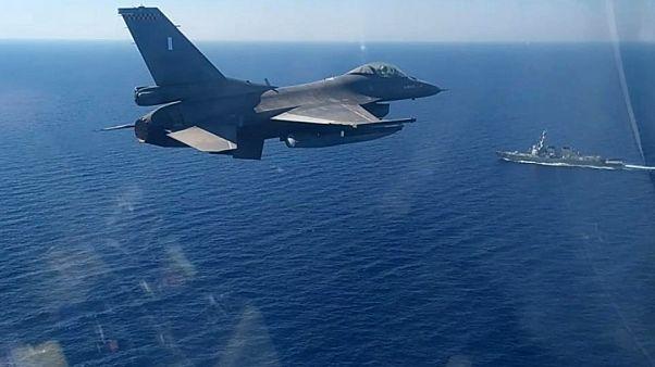 Doğu Akdeniz'de Yunan savaş uçağı devriye geziyor