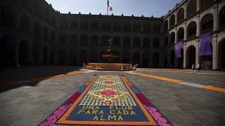 Patio del Palacio Nacional de México