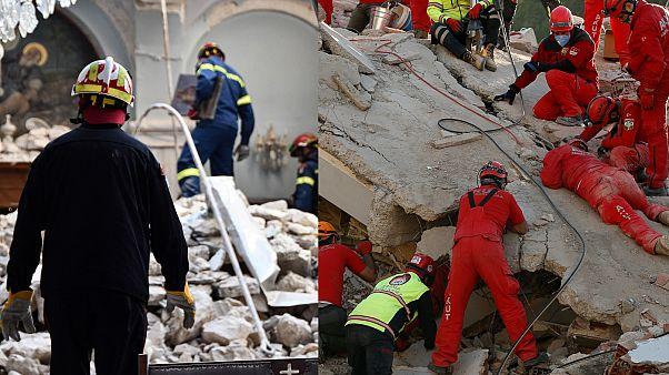 Erdbeben in der Ägäis: Mehr als 60 Tote - und kleine Wunder