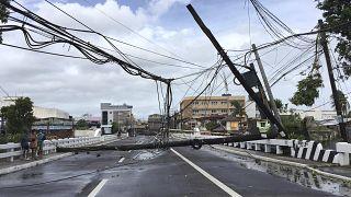 طوفان سهمگین در فیلیپین