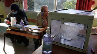 Wahllokal in der Hauptstadt Algier
