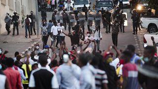 Manifestações em Luanda, Angola