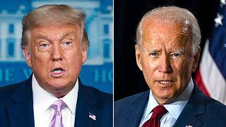 جو بایدن و دونالد ترامپ