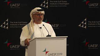 Birleşik Arap Emirlikleri (BAE) Dışişleri Bakanı Anwar Gargash