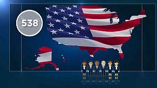 Das US-Wahlmännergremium hat 538 Wähler, sie bestimmen den Präsidenten