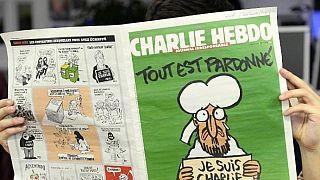 CHarlie Hebdo Fransız medyası manşetlerinde