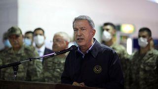 Turkish defence minister Akar