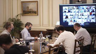 Τηλεδιάσκεψη του πρωθυπουργού με τους Πρυτάνεις