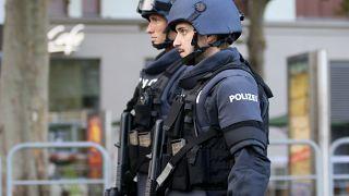 Polizisten in Wien.