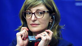 Bulgaria's Foreign Minister Ekaterina Zaharieva