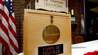 Выборы в США: первые результаты голосования в Нью-Гемпшире