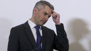 Der österreichische Innenminister Nehammer zum Stand der Ermittlungen