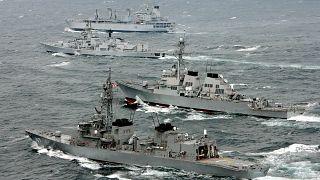 Japonya Donanmasına ait destroyer (arşiv)