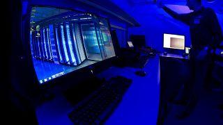 صورة من الارشيف - الافتتاح الرسمي لمركز جرائم الإنترنت في مقر يوروبول في لاهاي بهولندا