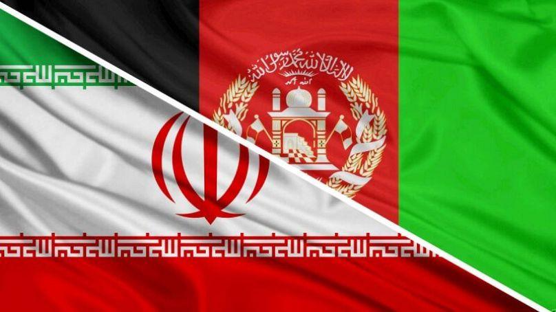 پرچم دو کشور همسایه، ایران و افغانستان
