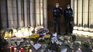 Nice kentinde saldırı düzenlenen kilise