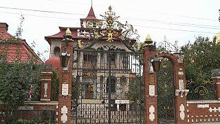 Verlassene Roma-Villa in Soroca, Moldawien