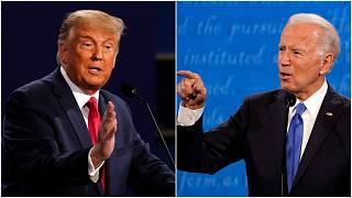 دونالد ترامب وجو بايدن