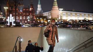 Moscow, Russia, Tuesday, Nov. 3, 2020