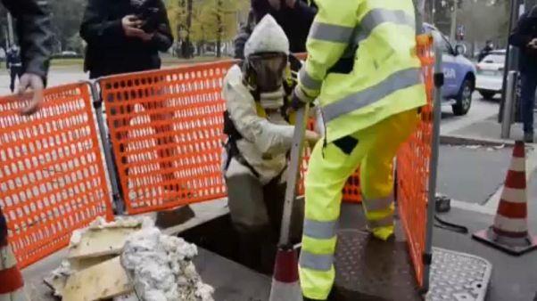 Durchs Abwassersystem- ungewöhnlicher Bankraub in Mailand