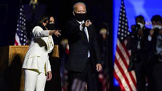 Wahlsieg für Joe Biden und Kamala Harris