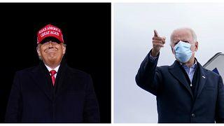 Дональд Трамп и Джо Байден.