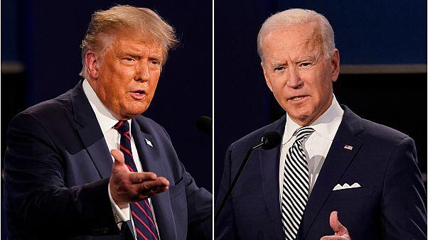 Donald Trump és Joe Biden