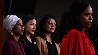 Ilhan Omar, Alexandria Ocasio-Cortez, Ayanna Pressley ve Rashida Tlaib
