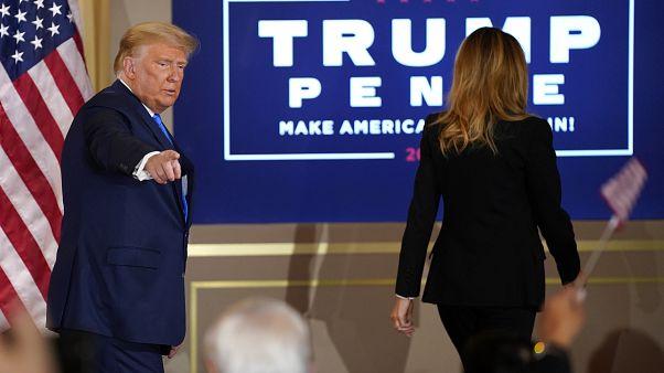 """""""Nach meinem Dafürhalten haben wir schon gewonnen"""", so Trump."""