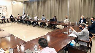 Πρόεδρος Δημοκρατίας Νίκος Αναστασιάδης, συνάντηση με επιδημιολογική ομάδα