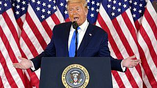 Trump durante su intervención