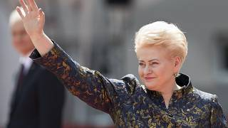 L'ancienne présidente lituanienne Dalia Grybauskaite
