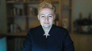 Entrevista a la expresidenta de Lituania Dalia Grybauskaitė