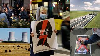 Sweden COVID-19 measures, Belarus power plant, Polish abortion protests, Macron protests, Fehmarnbelt tunnel.