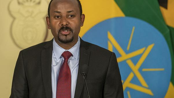 """Prime Minister Abiy Ahmed's office said that """"the last red line has been crossed""""."""