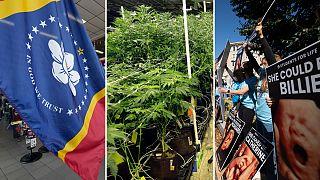A nova bandeira do Mississipi, canábis e aborto também foram a votos