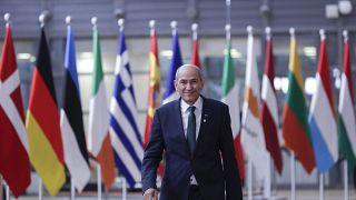 Janez Jansa, prime minister of Slovenia