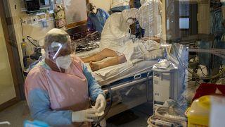 Отделение реанимации в бельгийской больнице