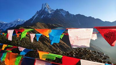 Nepal opens its borders to mountaineers after seven month lockdown.