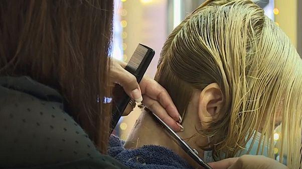 England: Der letzte Haarschnitt vor dem Lockdown