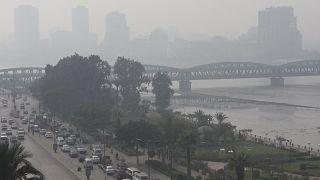 مصر- تلوث الهواء