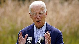 Joe Biden had previously criticised Donald Trump's decision to withdraw from the accord