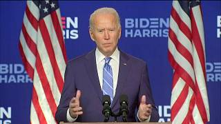 Biden edges closer to victory as Trump questions results