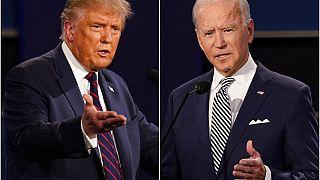 Los dos candidatos a la presidencia de Estados Unidos