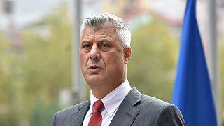 Президент Косова Хашим Тачи уходит в отставку из-за обвинений в военных преступлениях